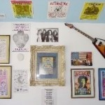 Wall and guitar 1